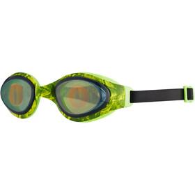 speedo Holowonder Printed Goggles Kinder lizard/smoke